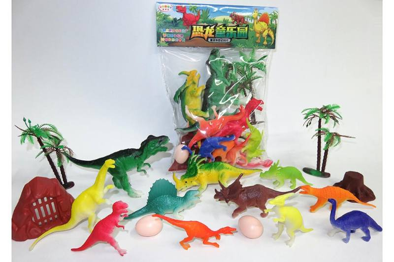 Animal and plant model toy simulation scene dinosaur No.TA260624