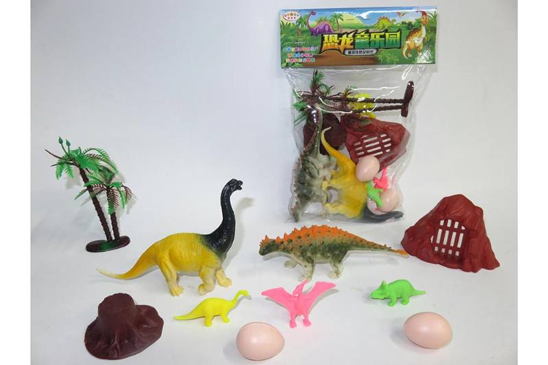 Animal and plant model toy simulation scene dinosaur No.TA260625