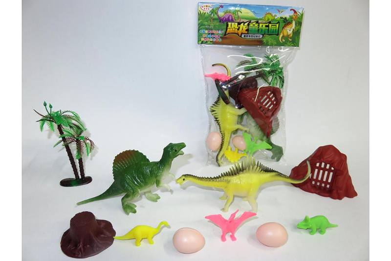 Animal and plant model toy simulation scene dinosaur No.TA260626