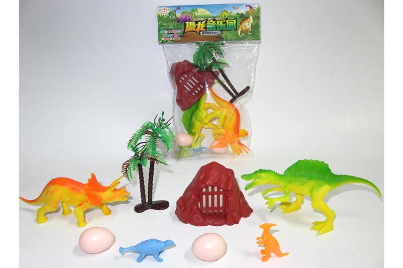 Animal and plant model toy simulation scene dinosaur No.TA260629