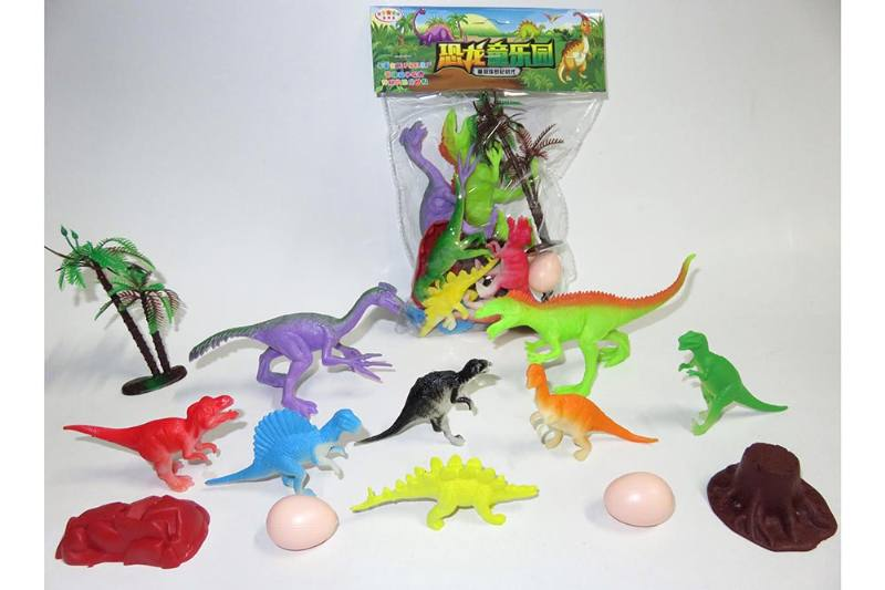 Animal and plant model toy simulation scene dinosaur No.TA260633