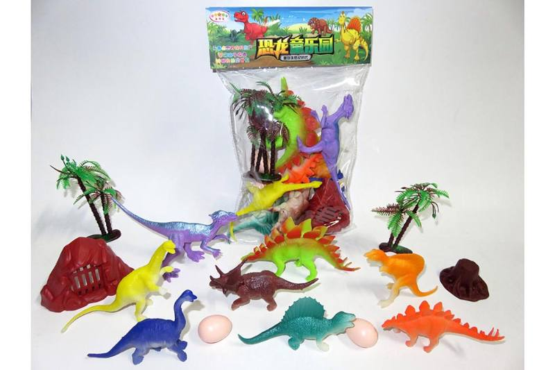 Animal and plant model toy simulation scene dinosaur No.TA260639