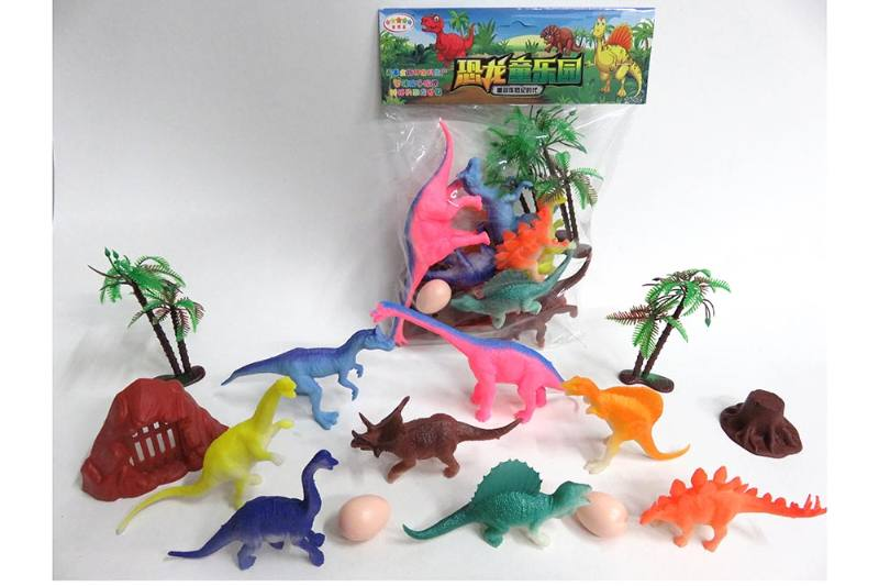Animal and plant model toy simulation scene dinosaur No.TA260640