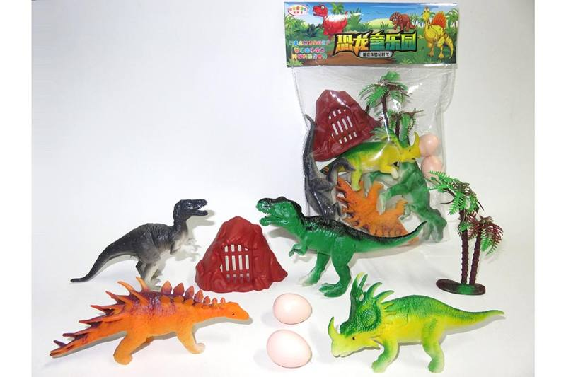 Animal and plant model toy simulation scene dinosaur No.TA260643