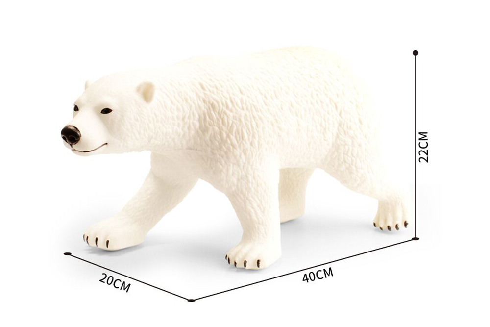 Animal and Plant Toys Polar Bear with IC No.TA261374