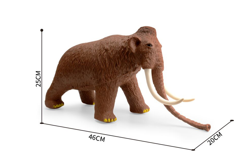 Animal and Plant Toys Mammoth with IC No.TA261375