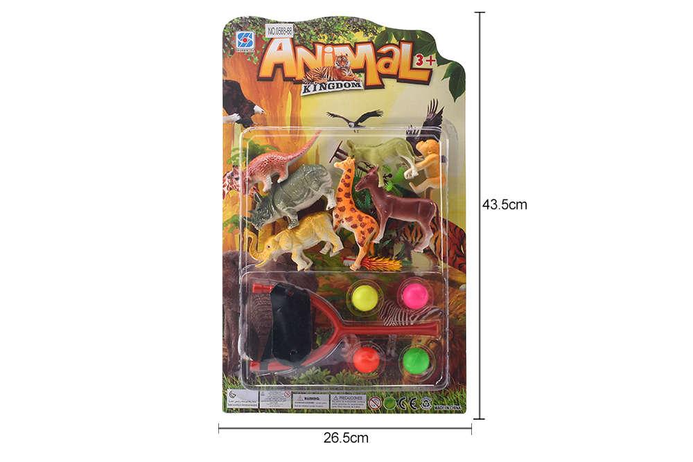 DIY Farm Ranch Toy Set Animal and Plant Model Simulation Toy No.TA261499