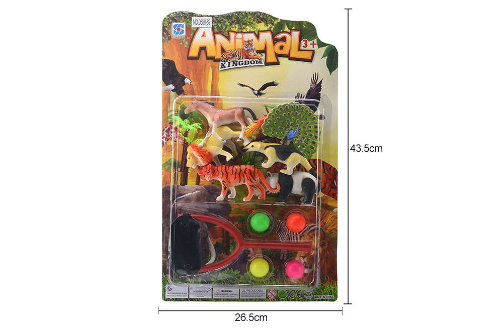 DIY Farm Ranch Toy Set Animal and Plant Model Simulation Toy No.TA261500