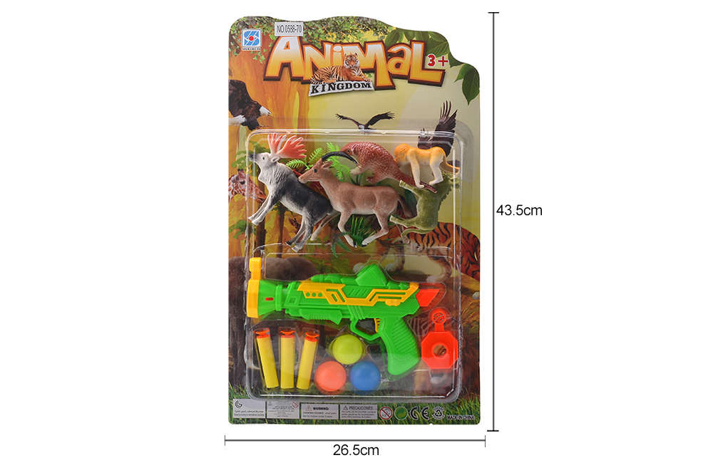 DIY Farm Ranch Toy Set Animal and Plant Model Simulation Toy No.TA261501