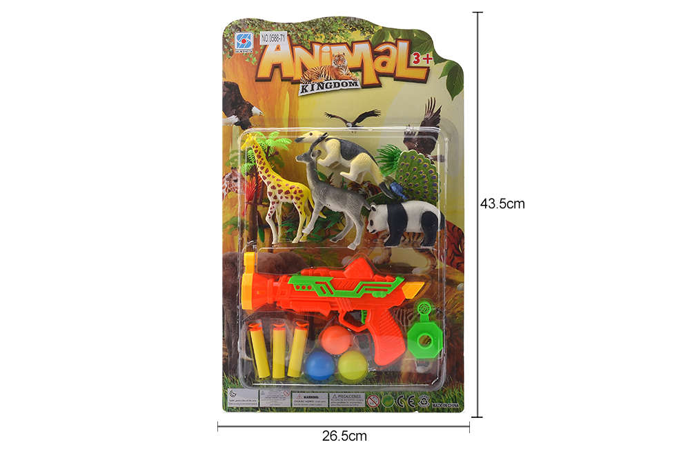 DIY Farm Ranch Toy Set Animal and Plant Model Simulation Toy No.TA261502