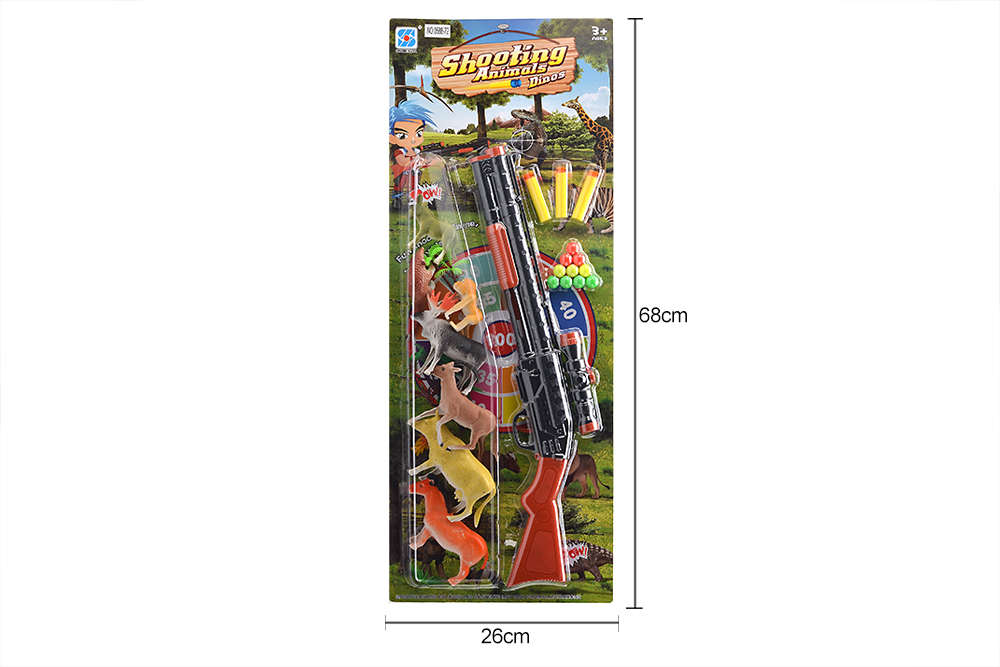 DIY Farm Ranch Toy Set Animal and Plant Model Simulation Toy No.TA261503