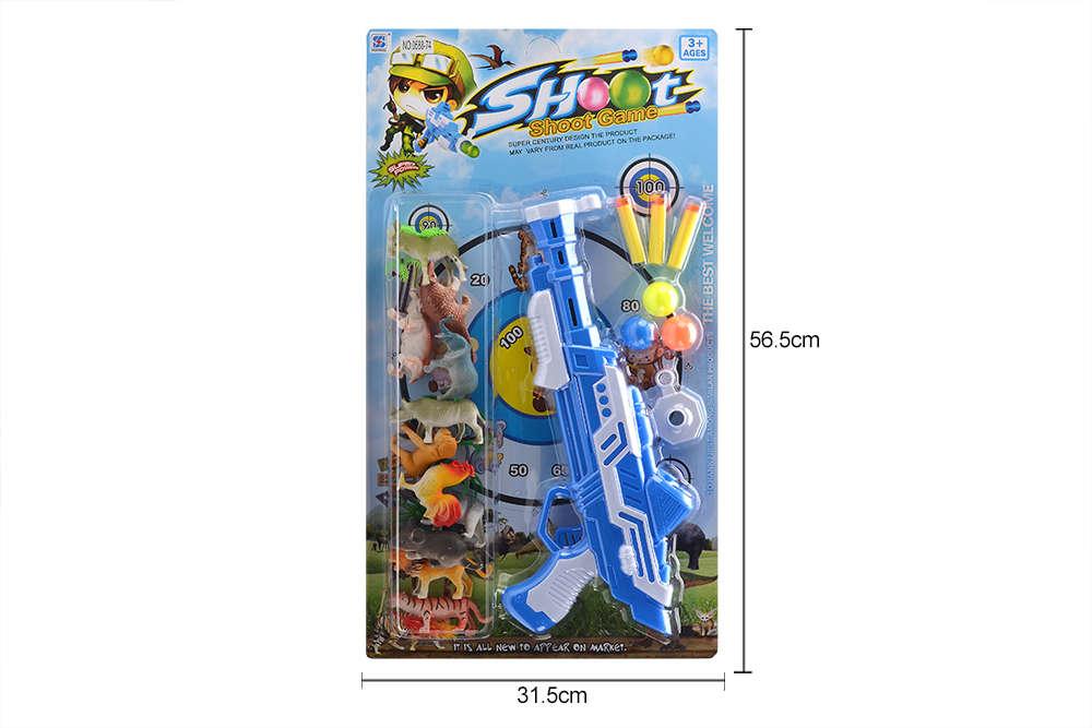DIY Farm Ranch Toy Set Animal and Plant Model Simulation Toy No.TA261505