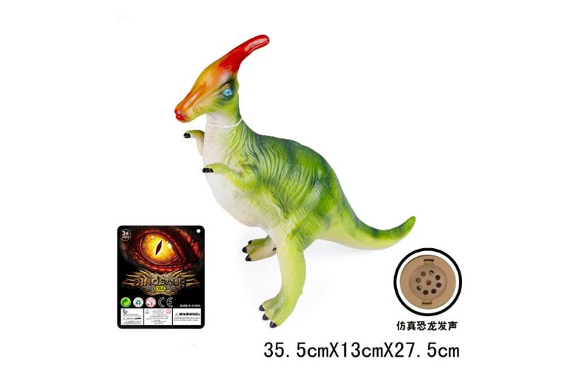 18 inch vinyl simulation dinosaur with IC sound (included battery) NO.TA262727