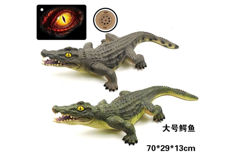 Big vinyl simulation dinosaur with IC sound (included battery) NO.TA262744