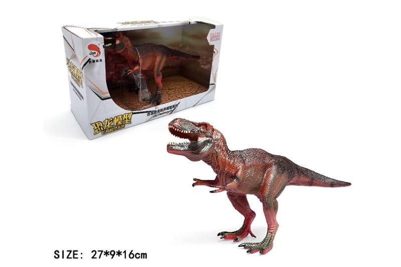 Rex Tyrannosaurus TPR Dinosaur Animal Toy NO.TA262769