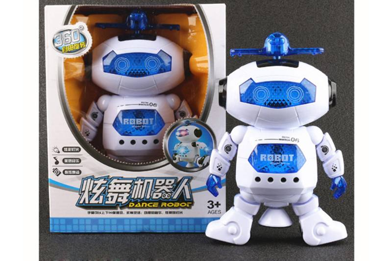 New movie and television character toy Hyun dance robot (window box) No.TA254798