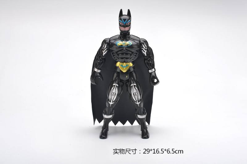 Batman cartoon anime toy with colored lights No.TA259848