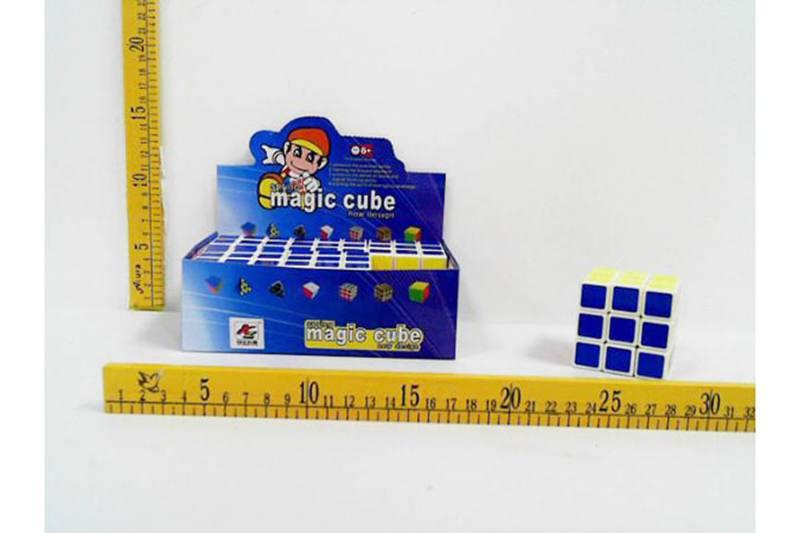 Educational magic cube toys 3x3x3 white Rubik's Cube No.TA255471