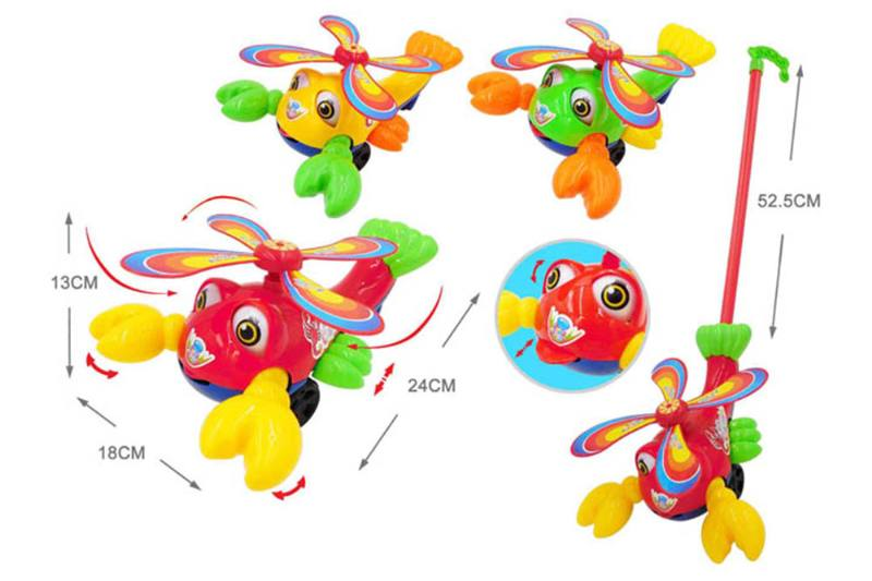 Baby hand push toy hand push big lobster No.TA254609