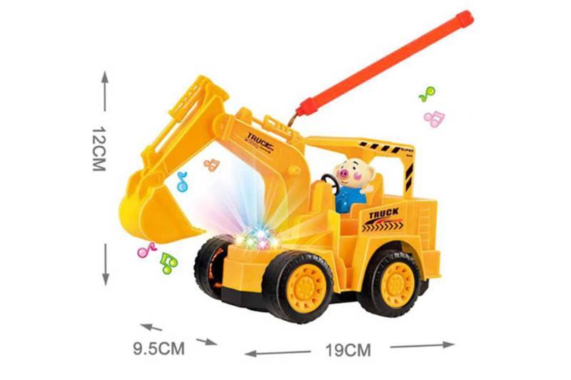 Seaweed pig electric universal excavator portable lantern (yellow powder mixed c No.TA254610