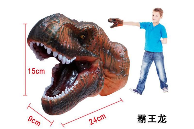 Novelty hand puppet toy Tyrannosaurus dinosaur puppet No.TA254850