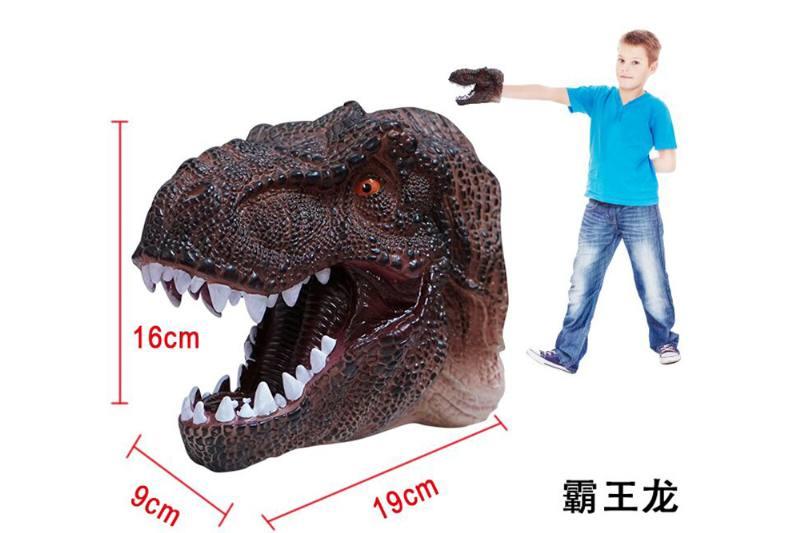 Novelty hand puppet toy Tyrannosaurus dinosaur puppet No.TA254851