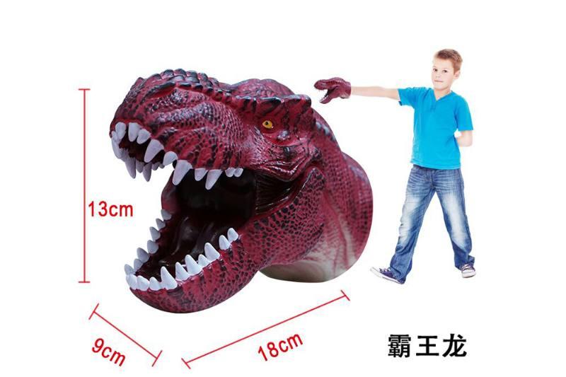 Novelty hand puppet toy Tyrannosaurus dinosaur puppet No.TA254854