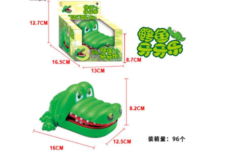 Novelty toy biting crocodile No.TA254855