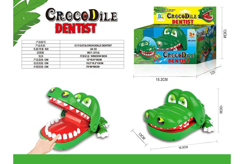 Novelty toy biting finger crocodileNo.TA255890