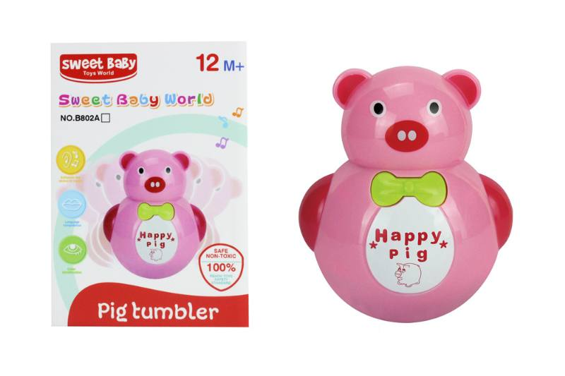 Novelty toy musical tumbler with lights No.TA259055