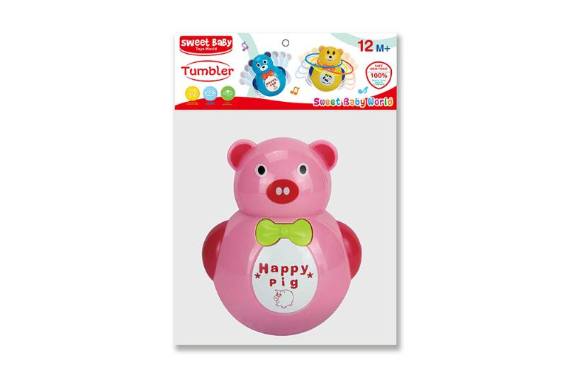 Novelty toy musical tumbler with lights No.TA259057
