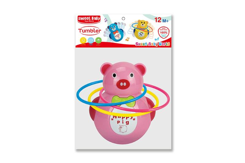 Novelty toy musical tumbler with lights No.TA259058
