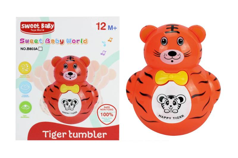 Novelty toy musical tumbler with lights No.TA259059