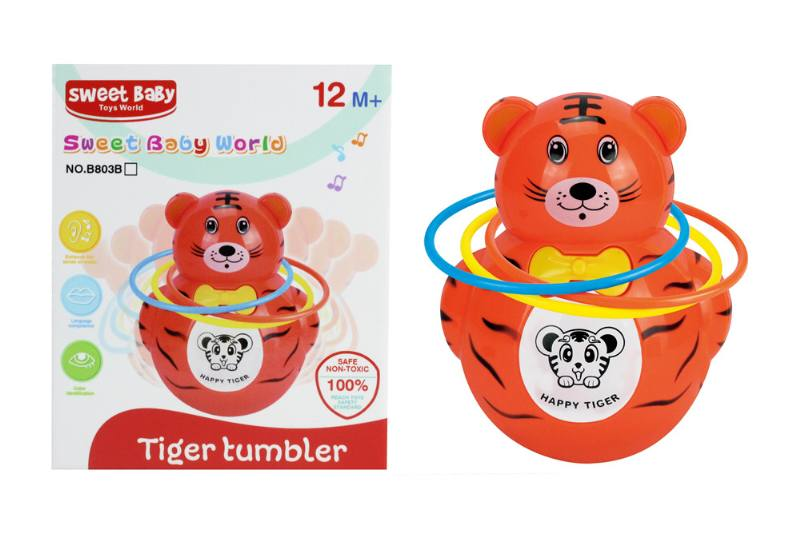 Novelty toy musical tumbler with lights No.TA259060
