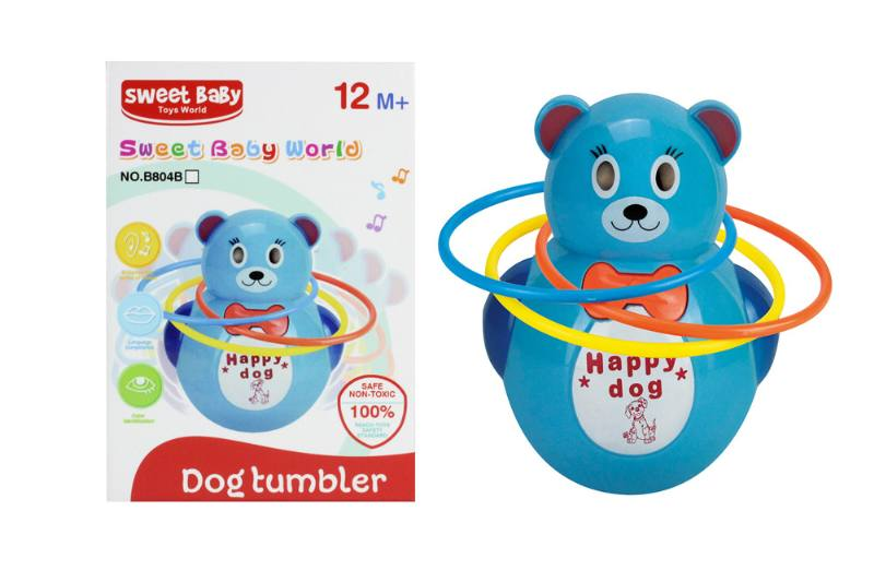 Novelty toy musical tumbler with lights No.TA259064