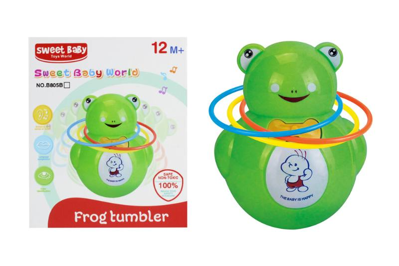 Novelty toy musical tumbler with lights No.TA259068