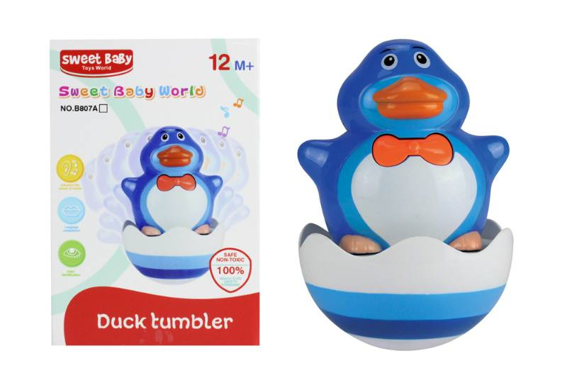 Novelty toy musical tumbler with lights No.TA259075
