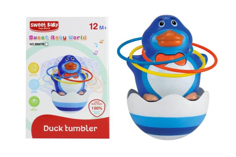 Novelty toy musical tumbler with lights No.TA259076