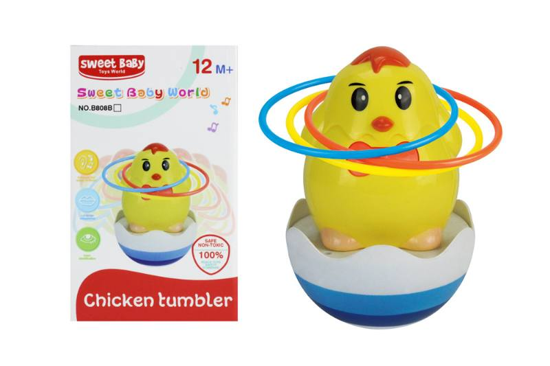 Novelty toy musical tumbler with lights No.TA259080