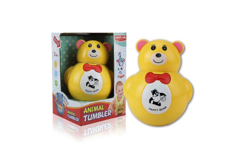 Novelty toy musical tumbler with lights No.TA259085