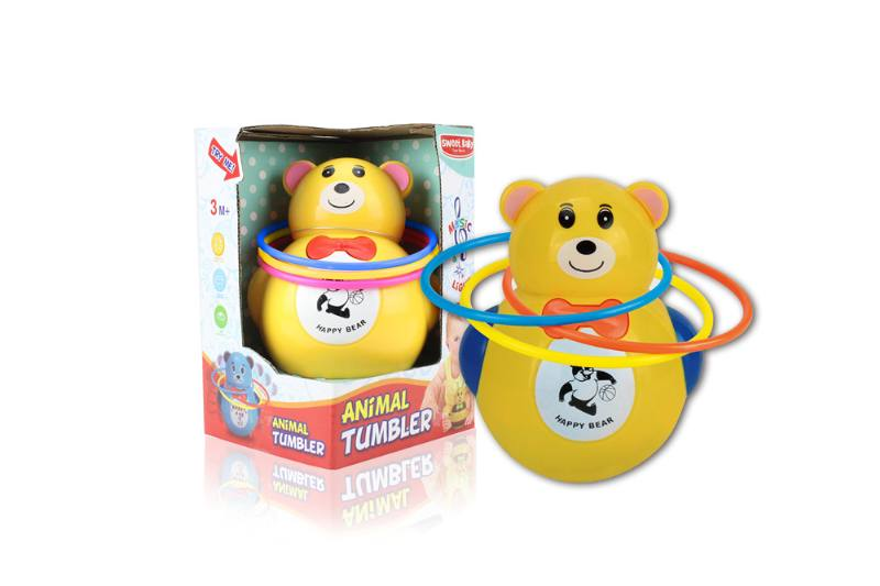 Novelty toy musical tumbler with lights No.TA259086