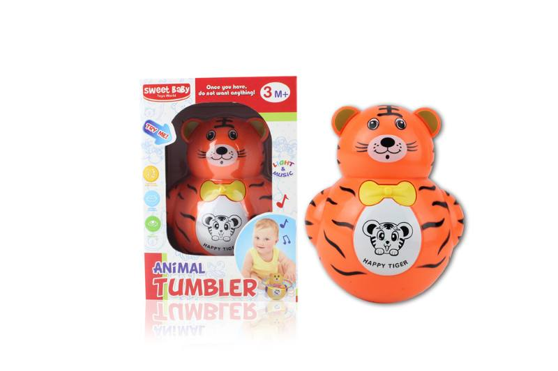 Novelty toy musical tumbler with lights No.TA259091