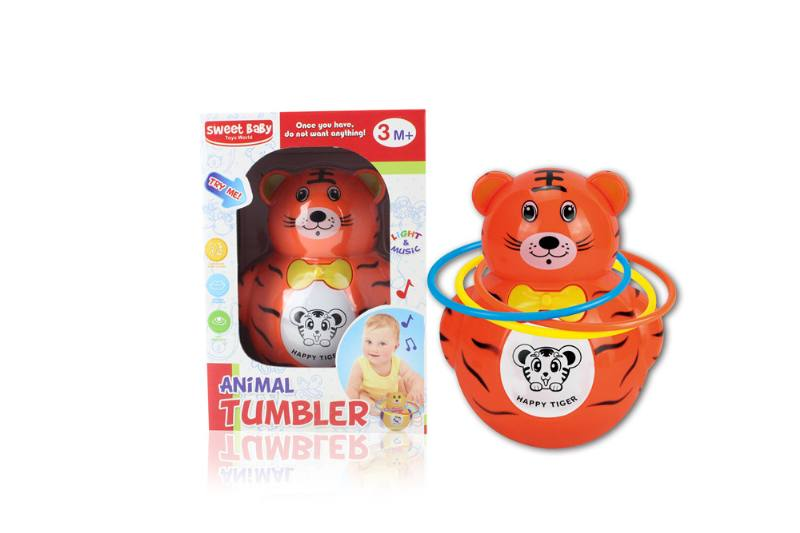Novelty toy musical tumbler with lights No.TA259092