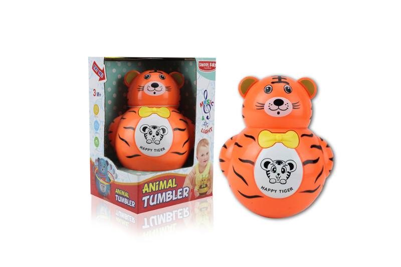 Novelty toy musical tumbler with lights No.TA259093