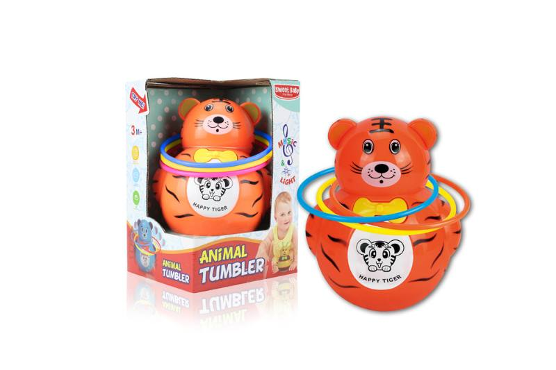Novelty toy musical tumbler with lights No.TA259094