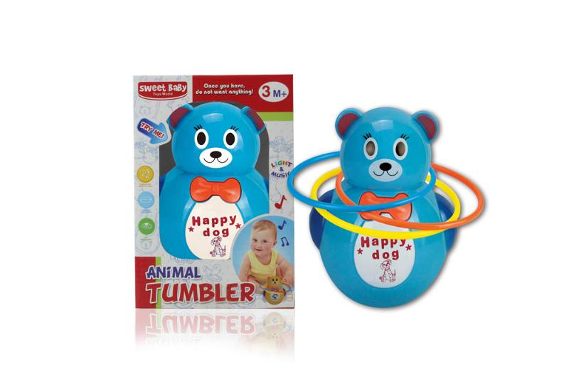 Novelty toy musical tumbler with lights No.TA259096