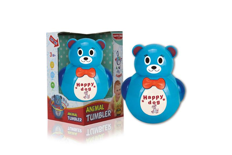 Novelty toy musical tumbler with lights No.TA259097