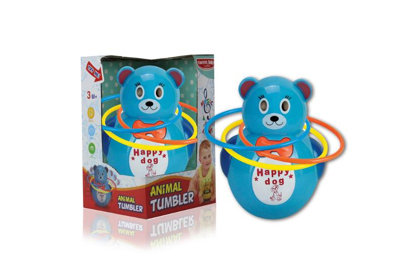 Novelty toy musical tumbler with lights No.TA259098