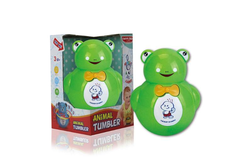 Novelty toy musical tumbler with lights No.TA259101