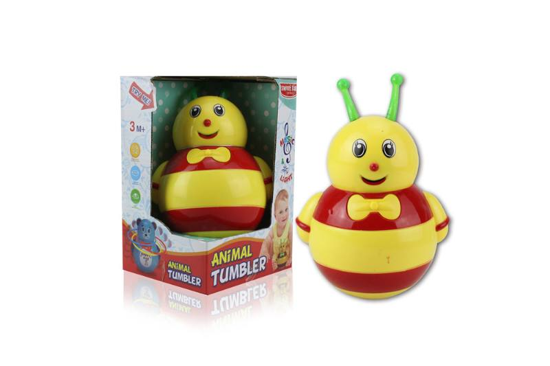 Novelty toy musical tumbler with lights No.TA259105